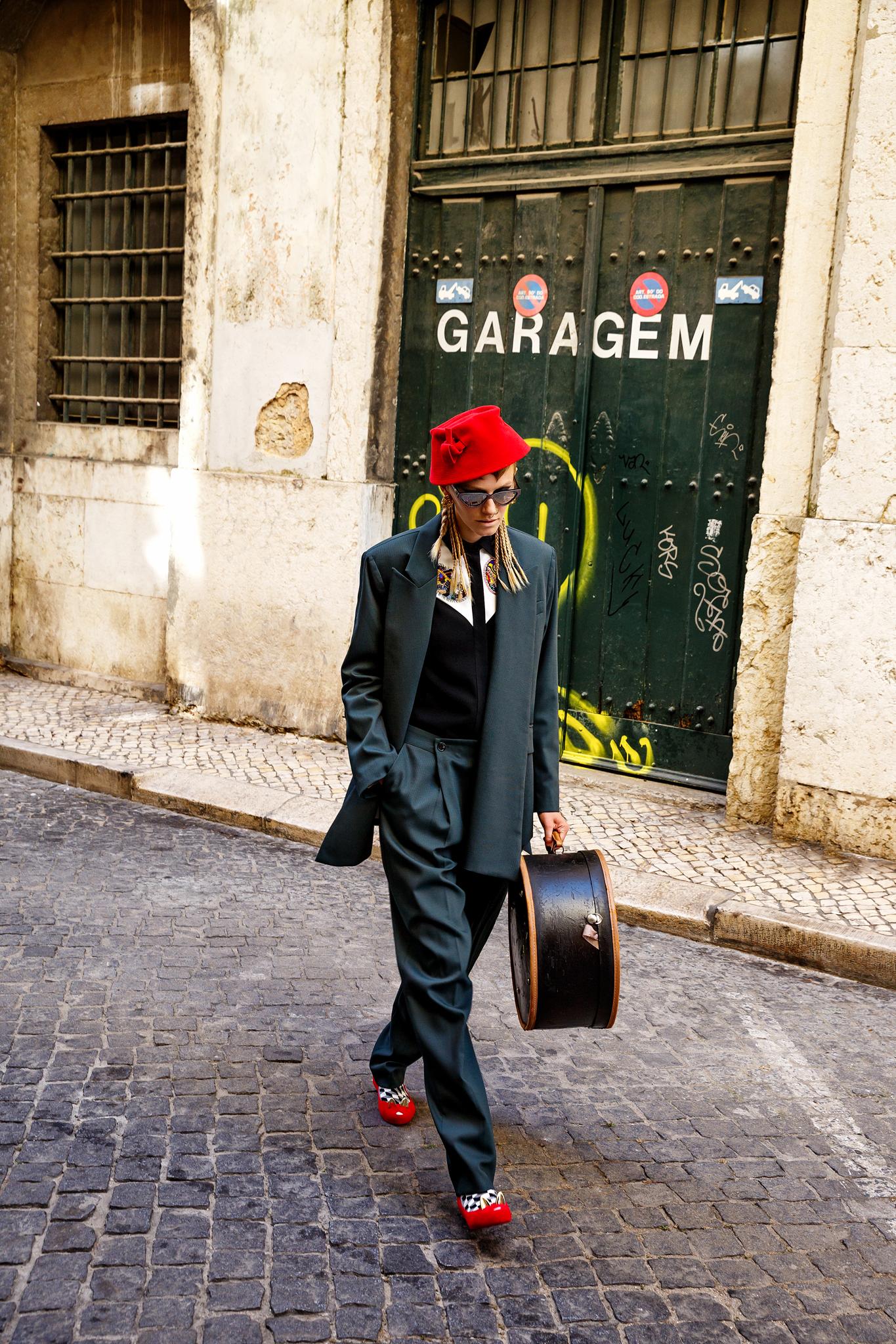 Vogue Editorial Punk Spiritus Digital Work Isabel Pinto